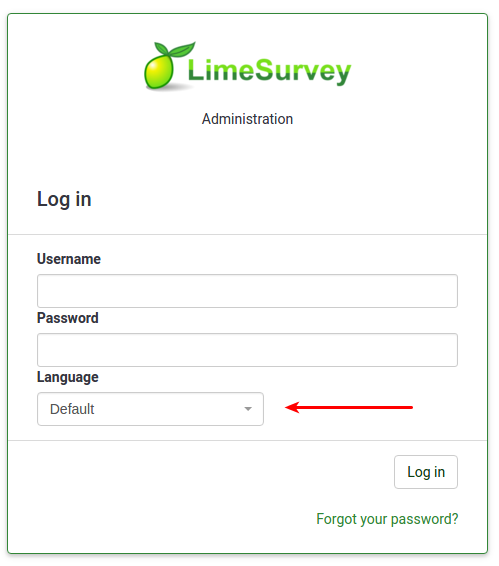 Image result for login to limesurvey